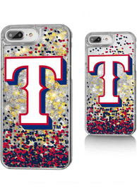 Texas Rangers iPhone 6+/7+/8+ Glitter Phone Cover