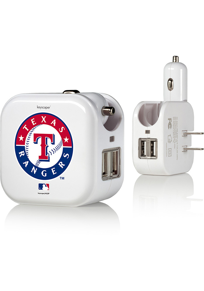 Texas Rangers 2-In-1 USB Phone Charger - Image 1