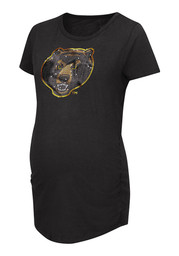 Baylor Womens Black Powerplay Maternity Tee