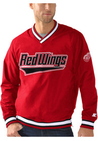 Detroit Red Wings Starter Gameday Pullover Jackets - Red