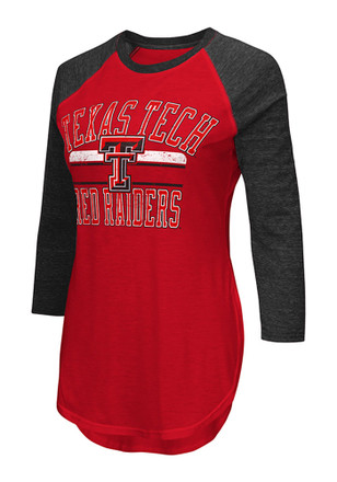Texas Tech Red Raiders Womens Hang Time Red T-Shirt