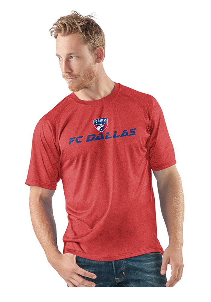 FC Dallas Red Locker Room Short Sleeve T Shirt - Image 1