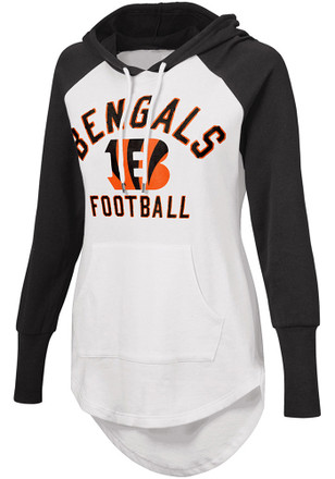 Cincinnati Bengals Womens White All Division Hoodie