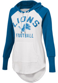 Detroit Lions Womens All Division Hooded Sweatshirt - White