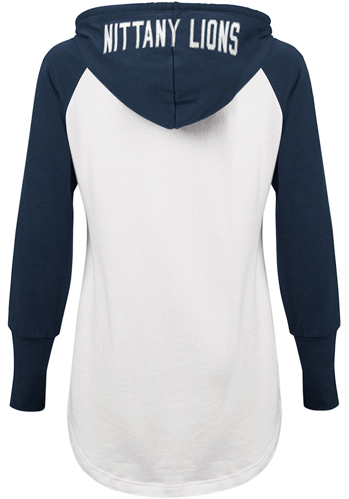 Penn State Nittany Lions Womens White All Division Hooded Sweatshirt - Image 2