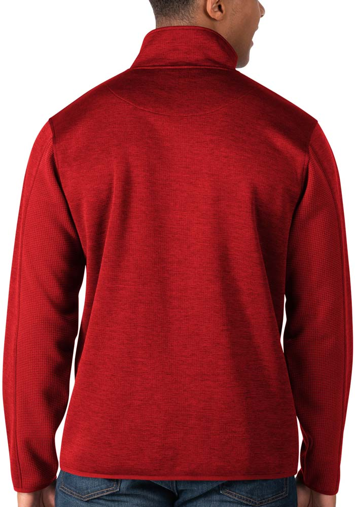 Kansas City Chiefs Mens Red Peacemaker Long Sleeve 1/4 Zip Pullover - Image 2