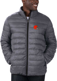 Cleveland Browns Yard Line Heavyweight Jacket - Charcoal
