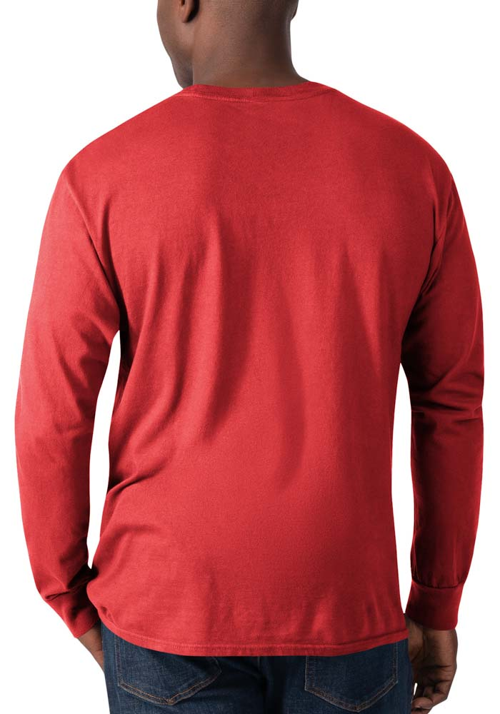 Kansas City Chiefs Red Record Setter Long Sleeve Fashion T Shirt - Image 2