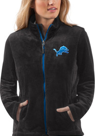 Detroit Lions Womens Goal Line Light Weight Jacket - Blue