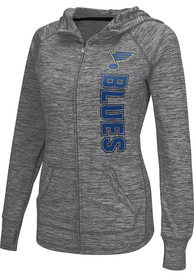 St Louis Blues Womens Defender Full Zip Jacket - Grey
