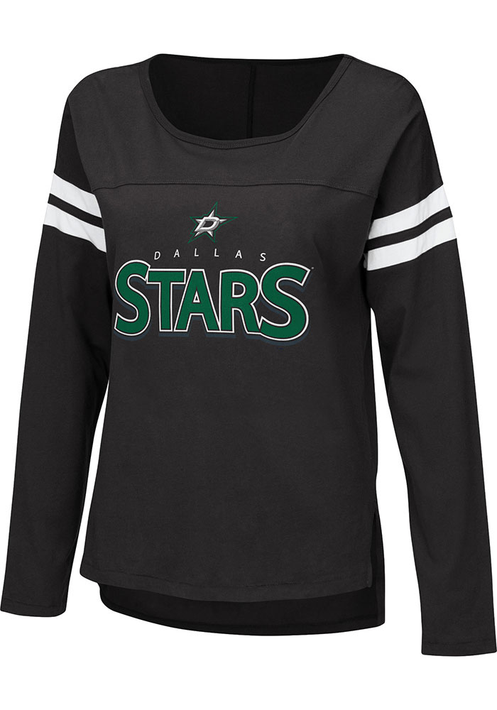 Dallas Stars Womens Free Agent T-Shirt - Black