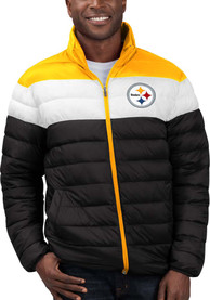 Pittsburgh Steelers Starter Cold Front Heavyweight Jacket - Black