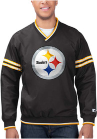 Pittsburgh Steelers Starter Gameday Trainer II Pullover Jackets - Black