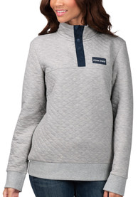 Penn State Nittany Lions Womens First Hit 1/4 Zip Pullover - Grey