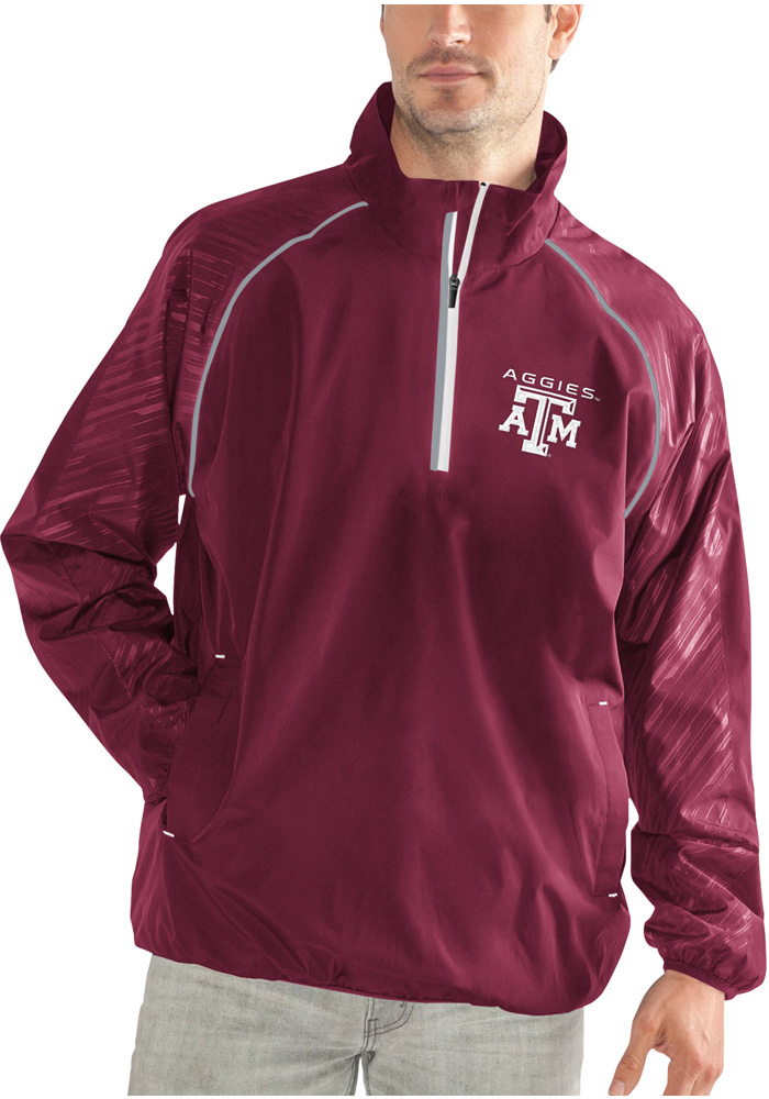 Texas A&M Aggies Oxygen 1/4 Zip Pullover - Maroon