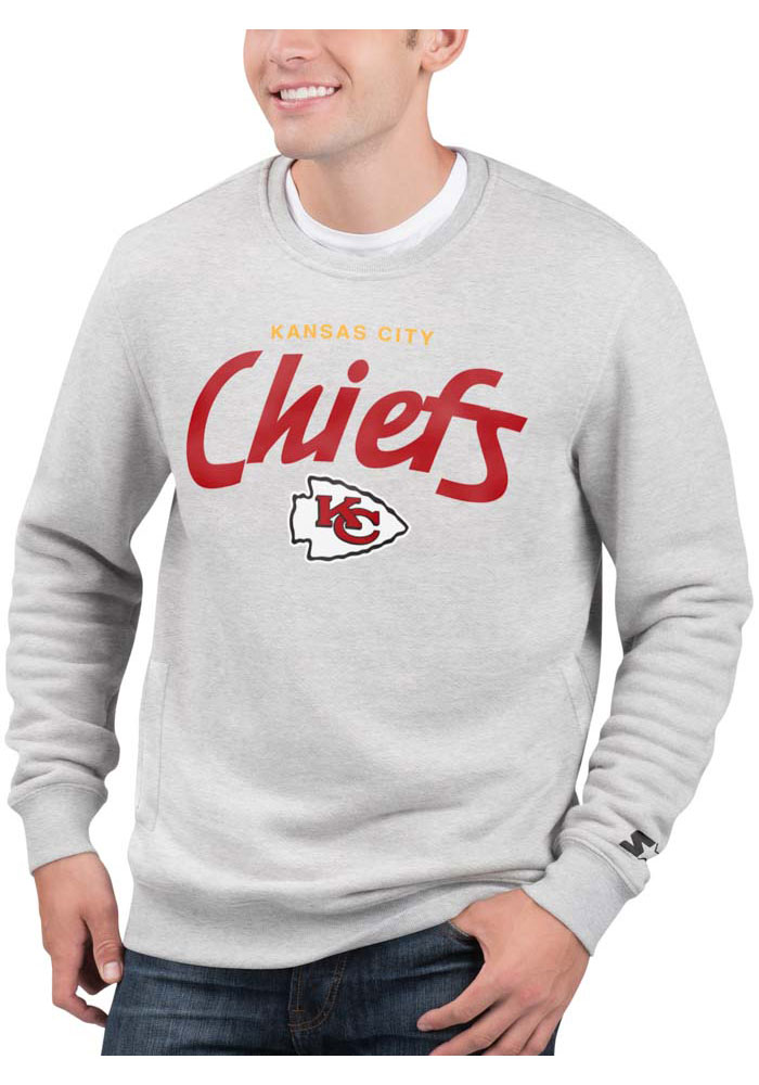 Kansas City Chiefs Grey All American Sweatshirt