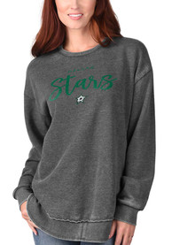 Dallas Stars Womens Gertrude Vintage Crew Sweatshirt - Black