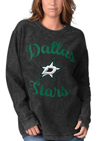 Dallas Stars Womens Julie Comfy Cord Crew Sweatshirt - Black