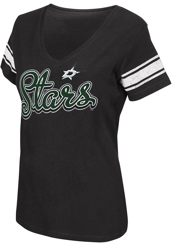 Dallas Stars Womens First Pick T-Shirt - Black