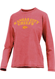 Kansas City Chiefs Womens Vintage T-Shirt - Red