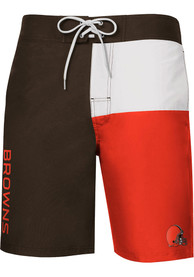 Cleveland Browns Breeze Swim Trunks - Brown