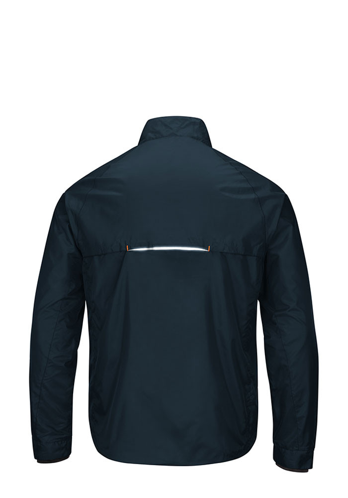 Chicago Bears Mens Navy Blue Interval Light Weight Jacket - Image 2