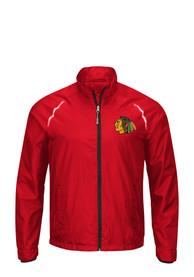 Chicago Blackhawks Interval Light Weight Jacket - Red