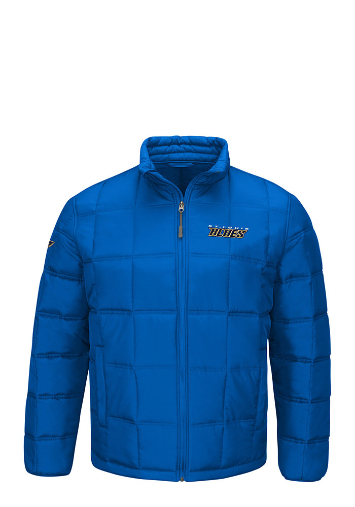 St Louis Blues Mens Blue Polyfilled Heavyweight Jacket - Image 1