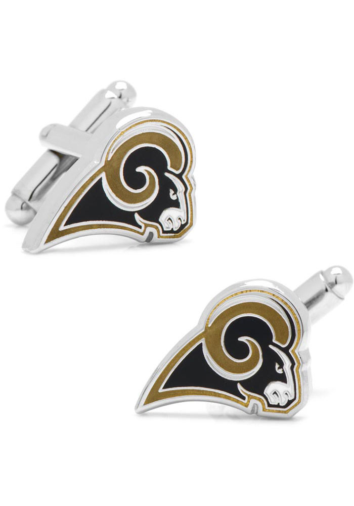 Los Angeles Rams Silver Plated Mens Cufflinks - Image 2