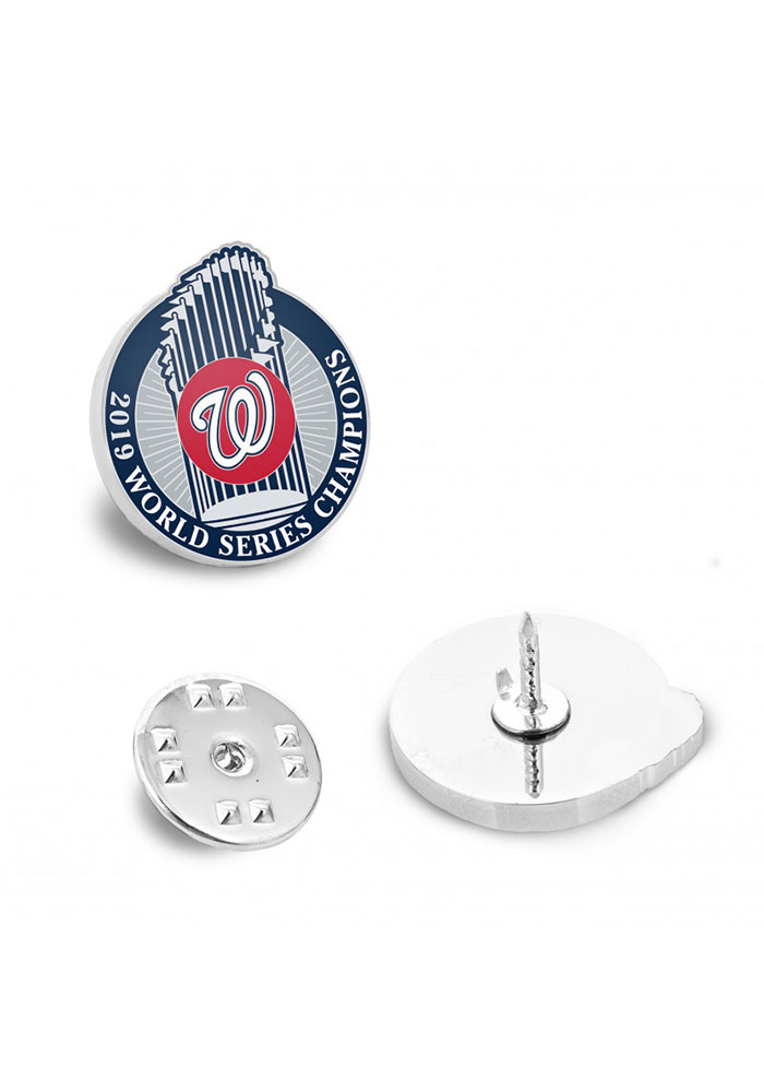 Washington Nationals Souvenir 2019 World Series Champions Lapel Pin - Image 1