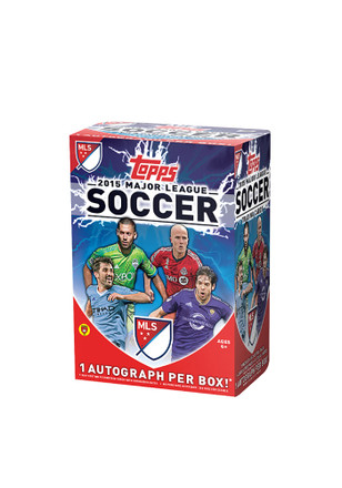 Topps 2016 MLS Blaster Box Collectibles Soccer Cards
