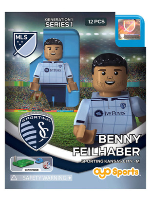 Sporting Kansas City Benny Feilhaber Benny Feilhaber Generation 1 Collectible Player Oyo