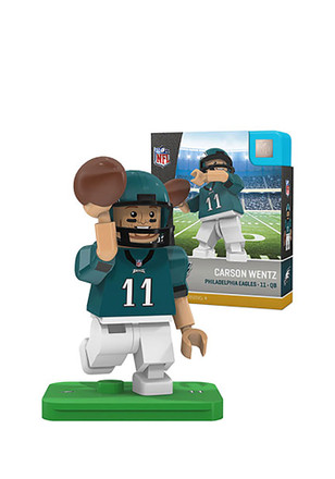 Philadelphia Eagles Carson Wentz Carson Wentz Generation 4 Collectible Player Oyo