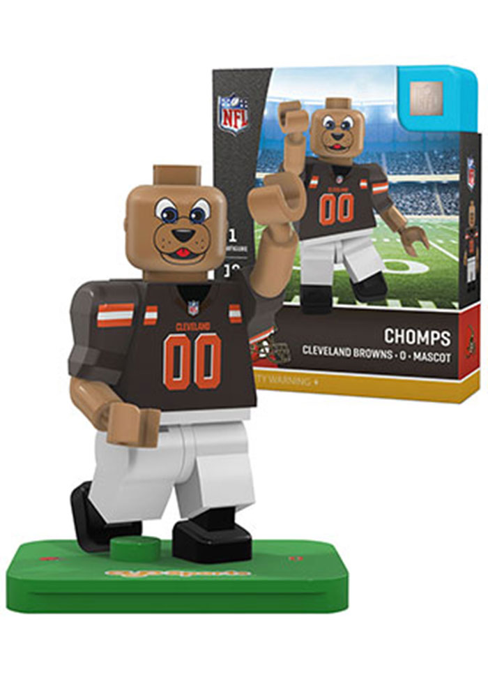 Cleveland Browns Chomps Generation 4 Collectible Player Oyo - Image 1
