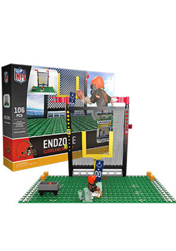 Cleveland Browns Endzone Set 106 Pieces Collectible Oyo Set - Image 1