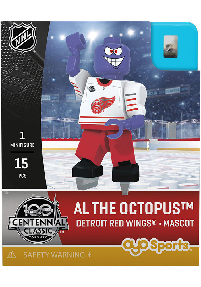 Detroit Red Wings Al The Octopus Generation 3 Collectible Player Oyo - Image 1