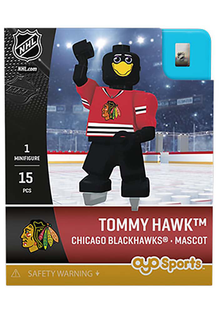 Chicago Blackhawks Tommy Hawk Generation 3 Collectible Player Oyo - Image 1
