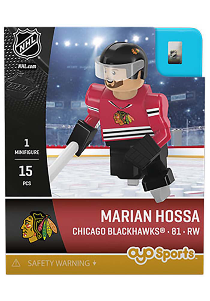 Chicago Blackhawks Marian Hossa Generation 3 Collectible Player Oyo - Image 1