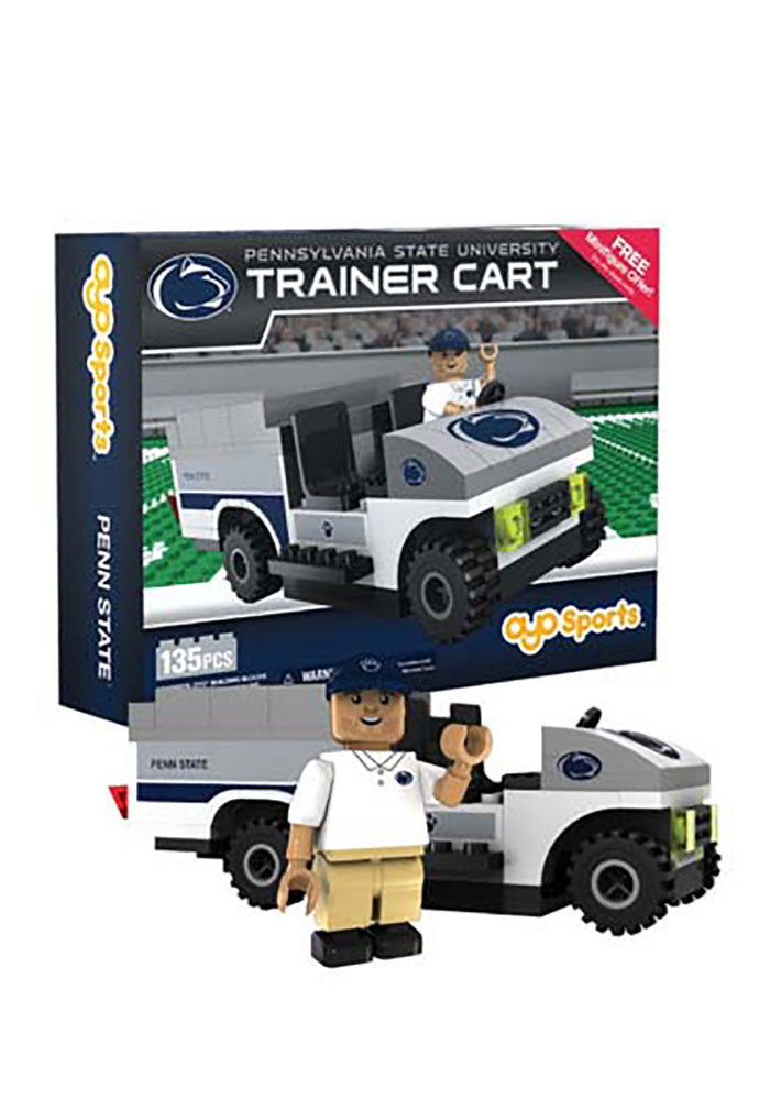 Penn State Nittany Lions 135 Piece Trainer Cart Collectible Oyo Set - Image 1