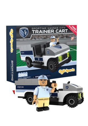 Sporting Kansas City 135 Piece Trainer Cart Collectible Oyos