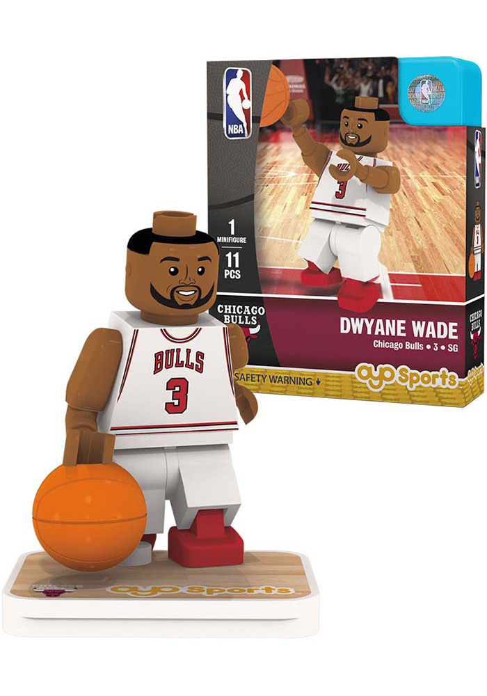 Chicago Bulls Dwyane Wade Player Collectible Player Oyo
