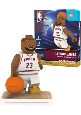 Cleveland Cavaliers LeBron James Player Collectible Player Oyo