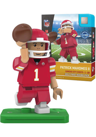 Kansas City Chiefs Patrick Mahomes Draft Pick Collectible Player Oyo
