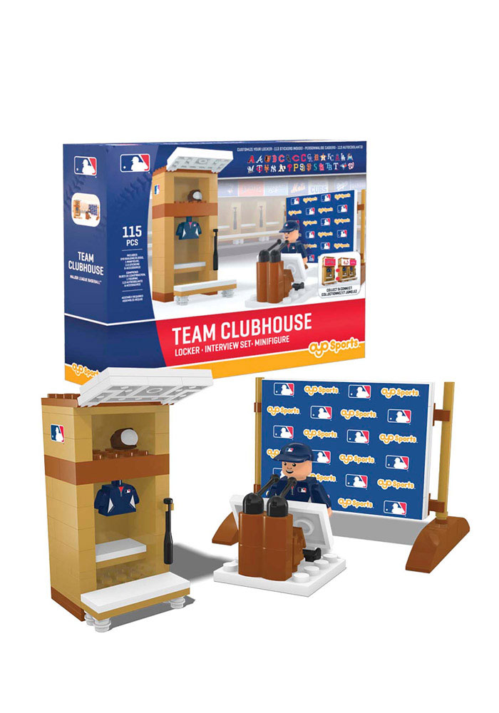 Team Clubhouse Locker Room Set 107 Pieces Collectible Oyo Set - Image 1