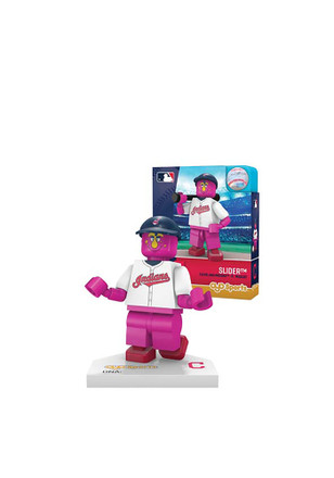 Cleveland Indians Slider the Mascot Generation 5 Collectible Oyos Slider