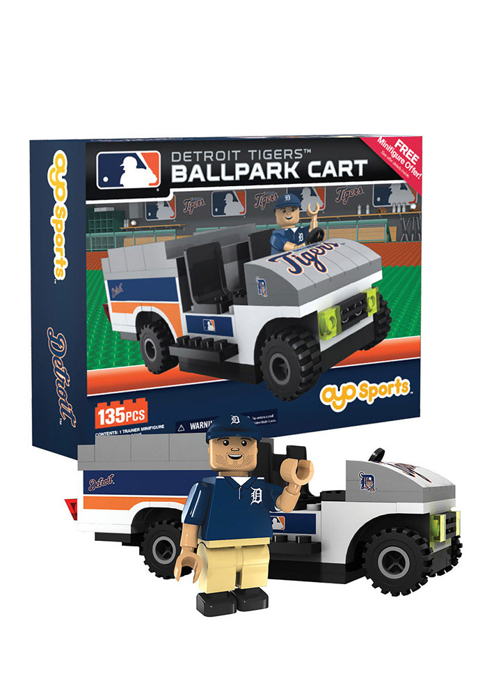 Detroit Tigers Ballpark Cart 135 Pieces Collectible Oyo Set - Image 1