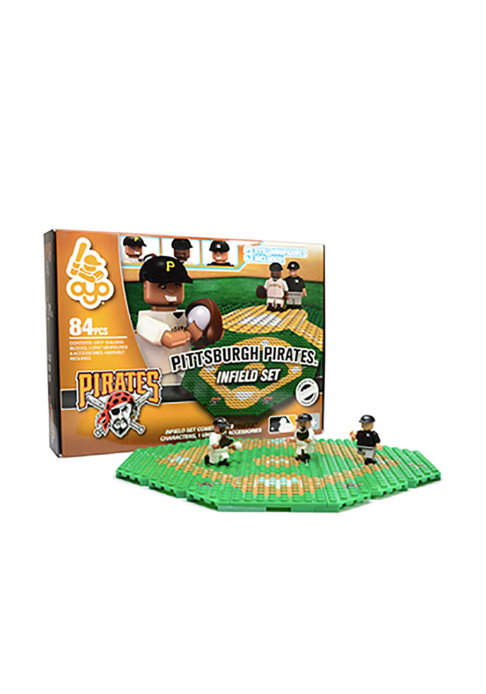 Pittsburgh Pirates 84 Pieces Infield Set Collectible Oyo Set - Image 1