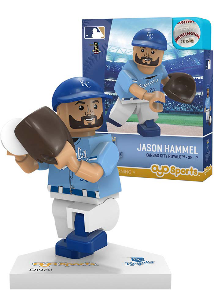 Kansas City Royals Jason Hammel Player Collectible Player Oyo - Image 1