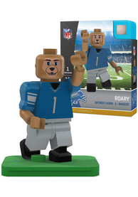 Detroit Lions Roary Mascot Collectible Player Oyo