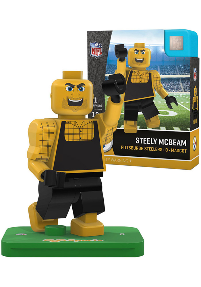 Pittsburgh Steelers Steely McBeam Mascot Collectible Player Oyo - Image 1